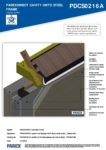 PDCS0216A – Closed Soffit – Steel RESISTANT MR