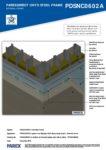 PDSNC0602A – External Corner 3D – Steel RESISTANT MR