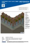 PDTC0402A – External Corner 3D – Timber RESISTANT MR