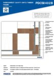 PDTC0402B – External Corner 2D – Timber RESISTANT MR