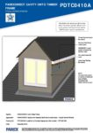 PDTC0410A – Dormer Window 3D – Timber RESISTANT MR
