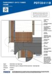 PDTC0411B – Base Detail 2D – Timber RESISTANT MR