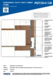 PDTC0413B – Fire Barrier 2D – Timber RESISTANT MR