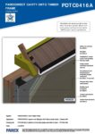 PDTC0416A – Closed Soffit – Timber RESISTANT MR