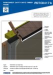 PDTC0417A – Open Soffit – Timber RESISTANT MR