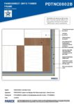 PDTNC0802B – External Corner 2D – Timber RESISTANT MR