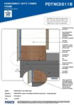 PDTNC0811B – Base Detail 2D – Timber RESISTANT MR