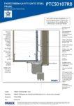 PTCS0107RB – Robust Window Head Detail 2D – Steel RESISTANT MR