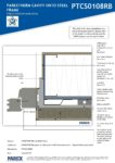 PTCS0108RB – Robust Window Jamb Detail 2D – Steel RESISTANT MR