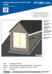 PTCS0110A – Dormer Window 3D – Steel RESISTANT MR
