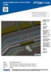 PTCS0115A – Boiler Flue 3D – Steel RESISTANT MR
