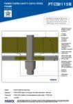 PTCS0115B – Boiler Flue 2D – Steel RESISTANT MR