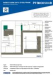 PTSNC0504B – Stepped & Staggered Wall 2D – Steel RESISTANT MR
