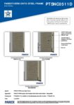 PTSNC0511D – Base Profile 2D – Steel RESISTANT MR