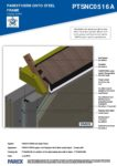 PTSNC0516A – Closed Soffit 3D – Steel RESISTANT MR