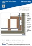 PTTC0302B – External Corner 2D – Timber RESISTANT MR