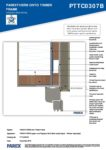 PTTC0307B – Window Head Detail 2D – Timber RESISTANT MR