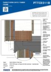PTTC0311B – Base Detail 2D – Timber RESISTANT MR