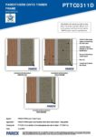 PTTC0311D – Base Profiles 2D – Timber RESISTANT MR