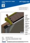 PTTC0316A – Closed Soffit 3D – Timber RESISTANT MR