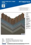 PTTNC0702A – External Corner 3D – Timber RESISTANT MR
