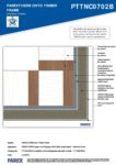 PTTNC0702B – External Corner 2D – Timber RESISTANT MR