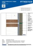 PTTNC0705B – Vertical Movement 2D – Timber RESISTANT MR