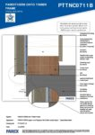 PTTNC0711B – Base Detail 2D – Timber RESISTANT MR