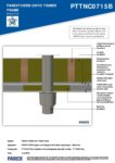 PTTNC0715B – Boiler Flue 2D – Timber RESISTANT MR