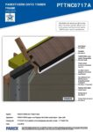 PTTNC0717A – Open Soffit 3D – Timber RESISTANT MR